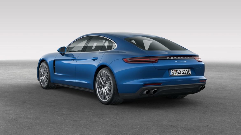 Nuevo Porsche Panamera, primeras imágenes y datos oficiales 2