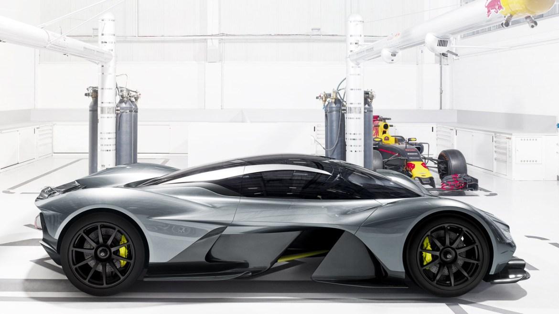 AM-RB 001, el superexótico de Aston Martin y Red Bull que llegará a las calles en 2018 1