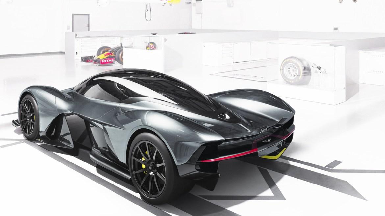AM-RB 001, el superexótico de Aston Martin y Red Bull que llegará a las calles en 2018 2