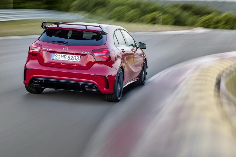 La segunda generación del Mercedes A45 AMG contará con 400 CV: ¿Volverá a ser el rey? 1