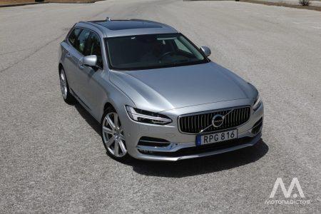 Prueba: Volvo S90 y V90, la ofensiva sueca del segmento E