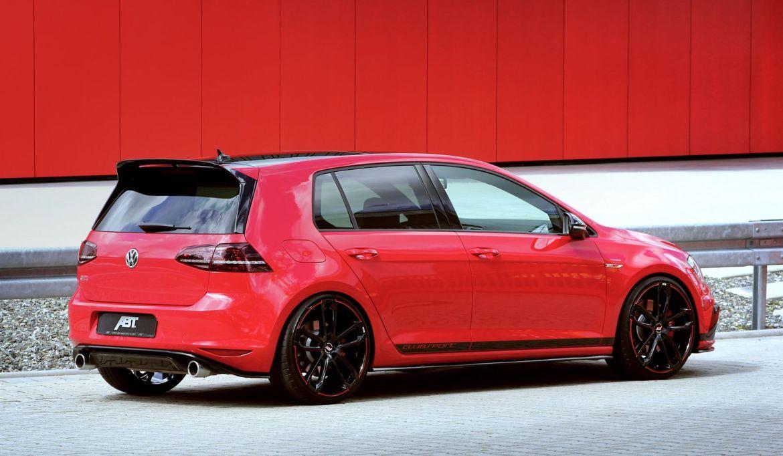 ABT le mete un chute al Volkswagen Golf GTI Clubsport: ¿Podrá digerir correctamente los 340 CV? 2