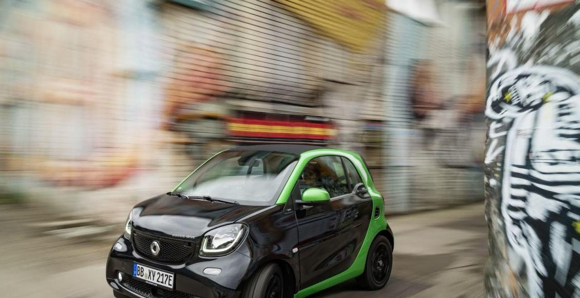 Smart Electric Drive 2017: La nueva gama eléctrica de Smart 61