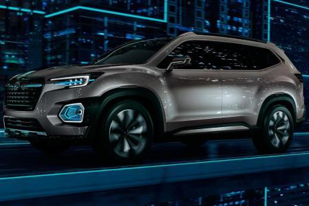 Subaru VIZIV-7 Concept: un SUV con siete plazas y 5,2 metros de longitud