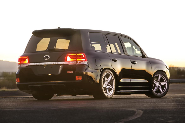 Toyota Land Speed Cruiser: Con su V8 de 5.7 litros alcanza 2.000 CV y 354 km/h 1