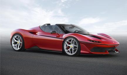 Ferrari J50: 690 CV, el regalo de navidad italiano del que sólo habrá 10 ejemplares