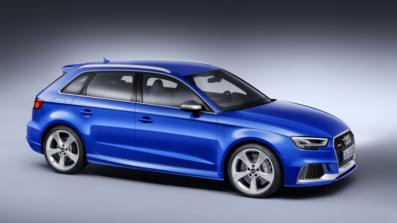 Nuevo Audi RS3 Sportback, destino Ginebra con 400 caballos de potencia