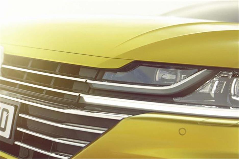 Volkswagen Arteon: El sucesor del CC calienta motores