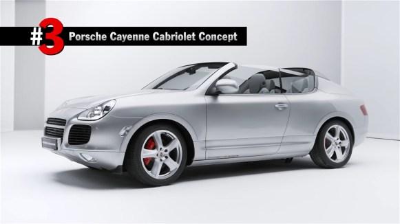 Así es el bizarro prototipo del Porsche Cayenne Cabriolet desarrollado hace 15 años