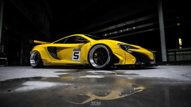 Liberty Walk pone en forma al McLaren 650S: Para aquellos a los que no les gusta ir de serie...