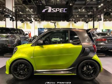 El smart fortwo de Aspec nos demuestra que aún puede ser más potente y deportivo