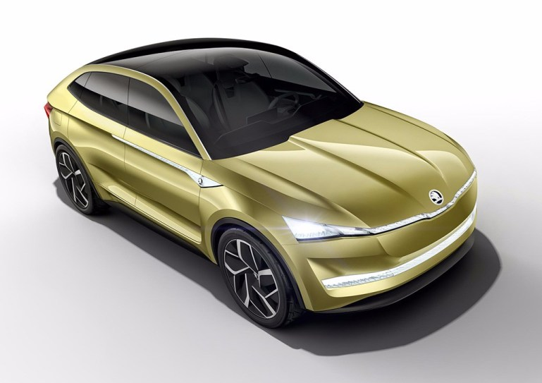 Skoda Vision E Concept: Así luce el primer prototipo eléctrico en forma de SUV de Skoda