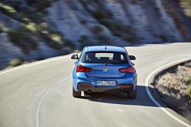 BMW Serie 1 2017: Cambios en el interior, más tecnología y nuevos colores de carrocería