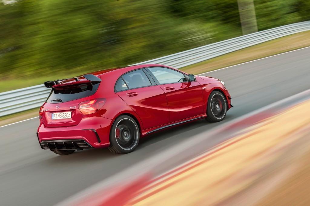 La que se avecina: Mercedes-AMG A 45, 400 caballos de serie y casi 500 en el horizonte