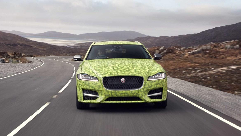 Nuevas imágenes oficiales del Jaguar XF Sportbrake, camino al debut oficial