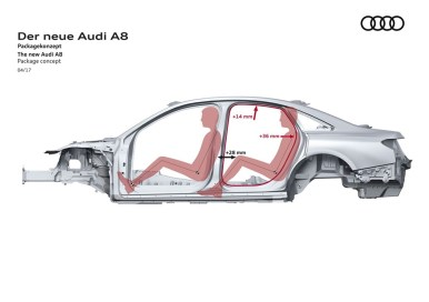 Así es el nuevo Audi A8 con nivel 3 de conducción autónoma y tecnología Mild Hybrid: ¿Qué más novedades trae?