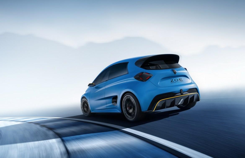 El Renault ZOE RS de altas prestaciones no llegaría hasta el año 2020