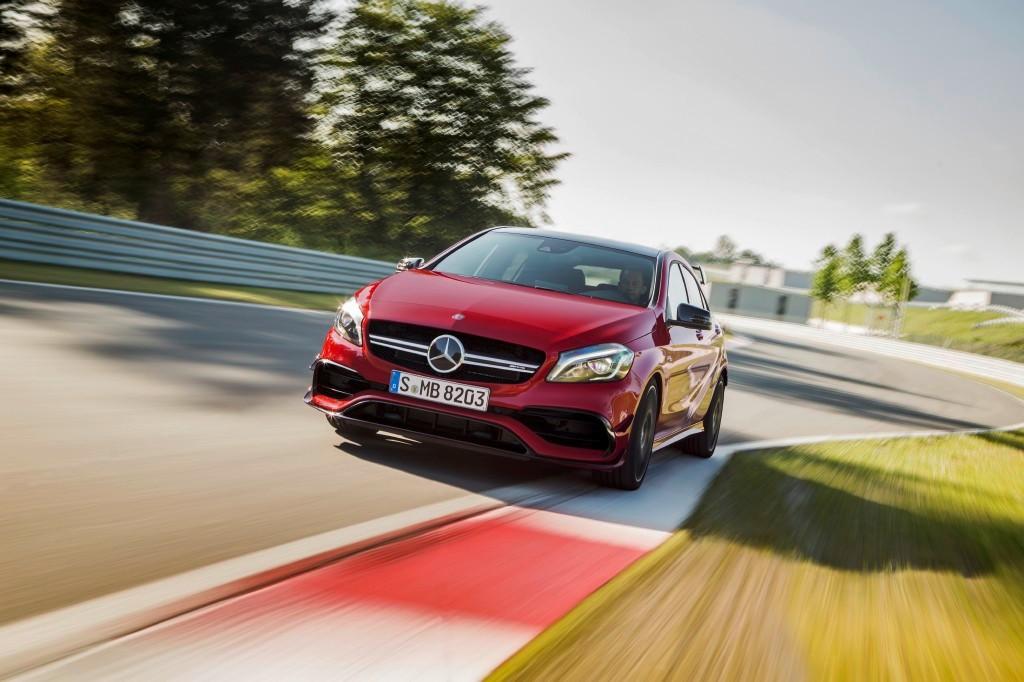 Oficial: el Mercedes AMG A 35 debutará en París