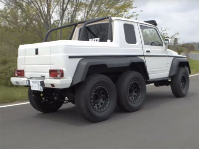 ¿Qué demonios esconde este Mercedes G 63 AMG 6×6 para costar tan sólo 9.000 euros?
