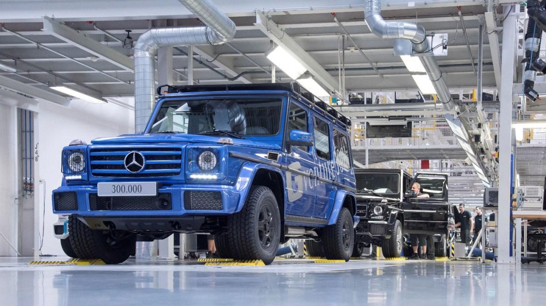 ¿Quién dijo que cumplir años es malo? El Mercedes Clase G celebra sus 300.000 unidades