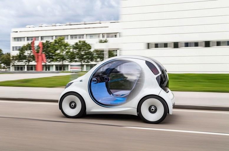 Smart Vision EQ Fortwo: Una ventana al carsharing del futuro bajo el prisma de Daimler