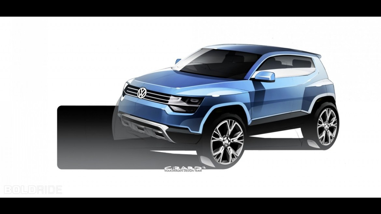 Volkswagen da luz verde al Up! b-SUV, lo veremos antes de 2020