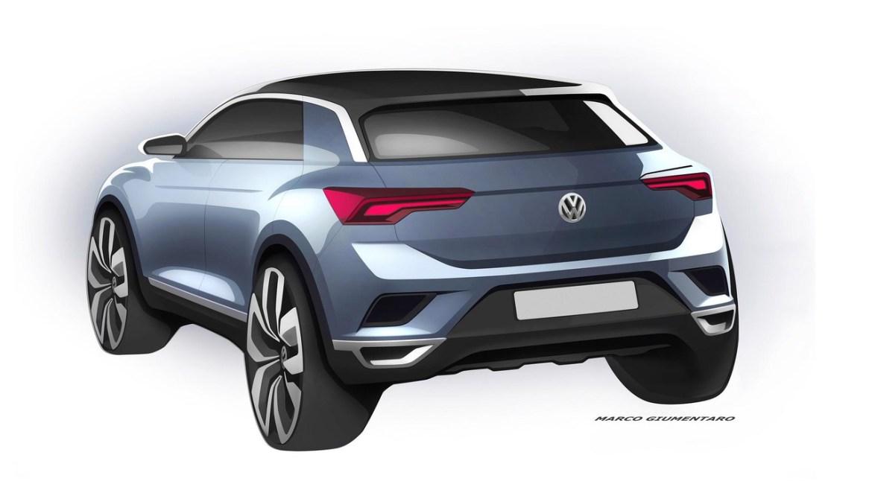 Volkswagen muestra el nuevo T-Roc, el b-SUV alemán que no te dejará indiferente
