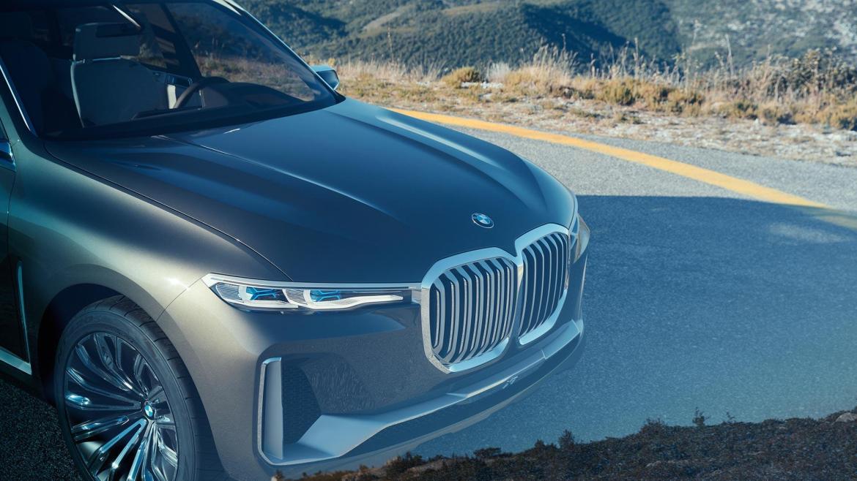 BMW Concept X7 iPerformance, el anticipo del gran SUV alemán
