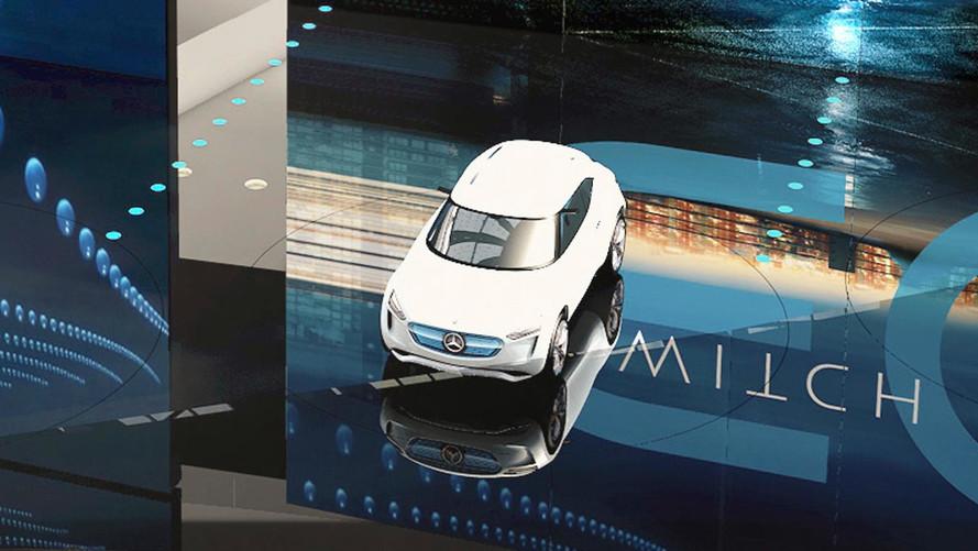 Mercedes EQ A Concept, primer anticipo oficial del nuevo eléctrico alemán