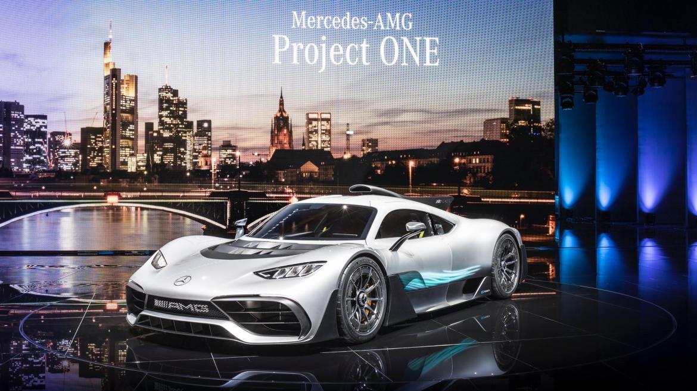 Así podría haber sido el Mercedes-AMG Project One