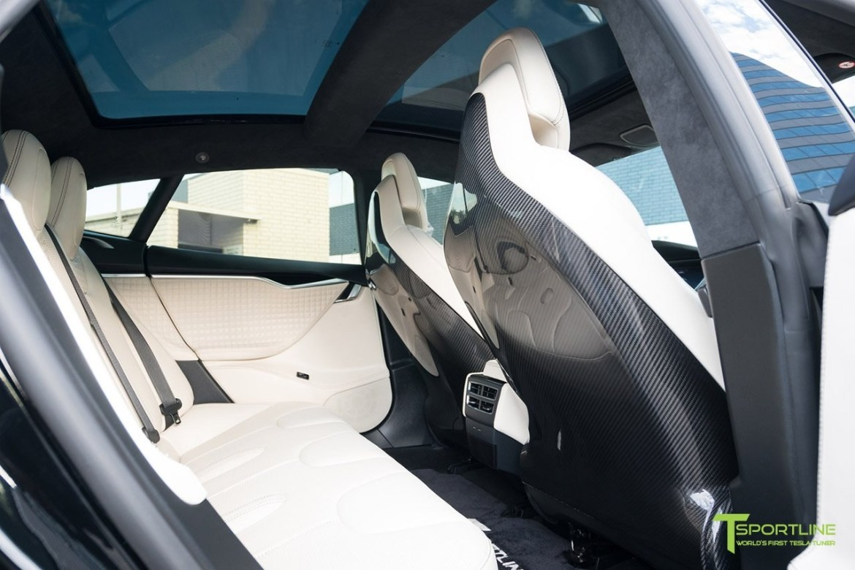 T Sportline Project TS8: Las preparaciones van llegando poco a poco al Tesla Model S