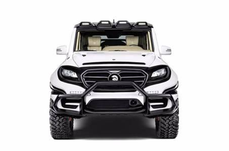 Ares X-Raid: Un Mercedes-AMG G 63 con un aspecto mucho más futurista