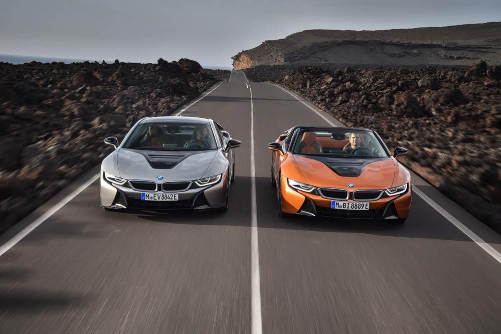 El próximo BMW i8 será más potente y radical: ¿cambio de rumbo?