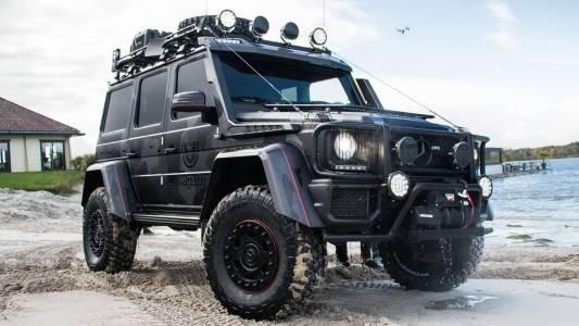 El Mercedes-Benz G500 4×4² de Jon Olsson está listo para enfrentarse a las peores adversidades