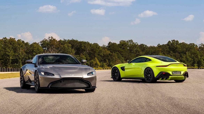 Oficial: Aston Martin Vantage: 510 caballos de pura adrenalina