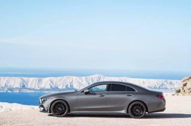 Oficial: nuevo Mercedes CLS, estilo y dinamismo desde Los Ángeles