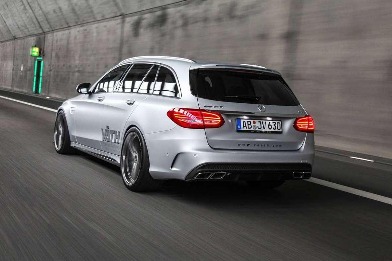 Väth Mercedes-AMG C63 S Estate: Familiar de altos vueltos con 700 CV