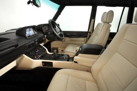 Vuelve la vieja escuela: Este Range Rover Chieftain cuenta con el motor V8 del Cadillac CTS-V