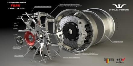 El McLaren 720S propuesto por Wheelsandmore suma 80 CV adicionales