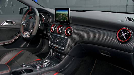 El Mercedes-AMG A 45 de Posaidon se queda en 550 CV: ¿Cómo lo consigue?