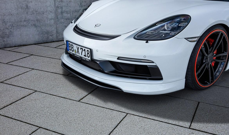 TechArt dice hola a la fibra de carbono en el Porsche 718 GTS