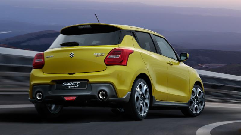 ¿Cuánto cuesta el nuevo Suzuki Swift Sport 2018?