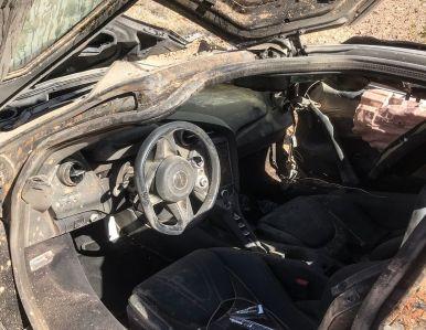 Espectacular accidente: Así ha quedado este pobre McLaren 720S en Las Vegas
