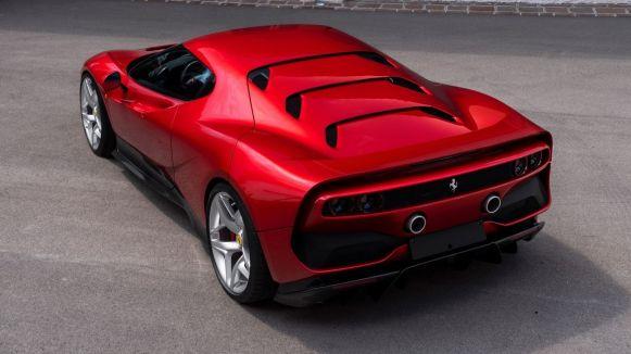 Ferrari SP38: Así luce este one-off que recuerda al F40