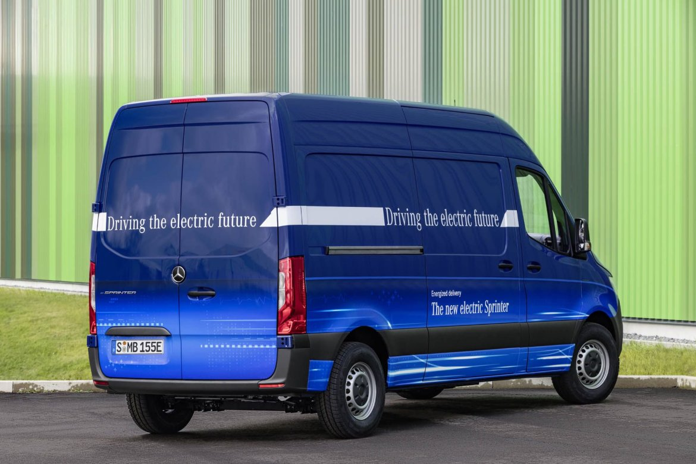 La nueva Mercedes-Benz eSprinter será 100% eléctrica y contará con una autonomía de 150 kilómetros