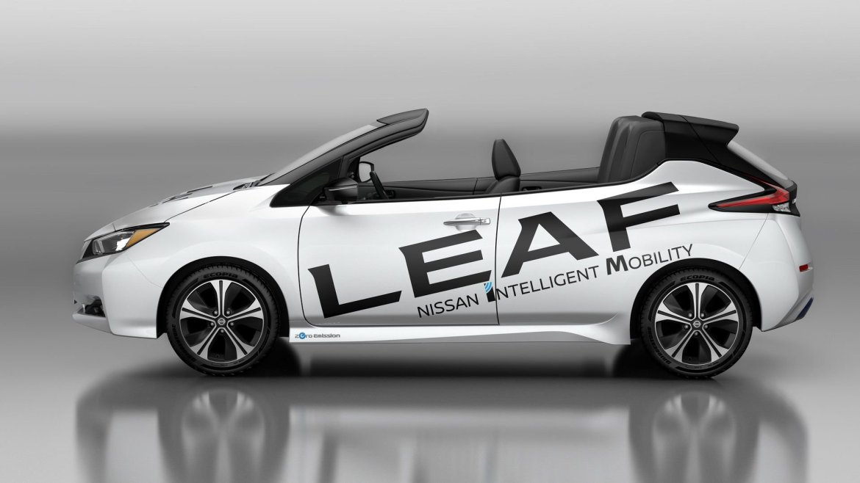 Nissan Leaf Open Car: ¿Tiene sentido un Leaf descapotable?