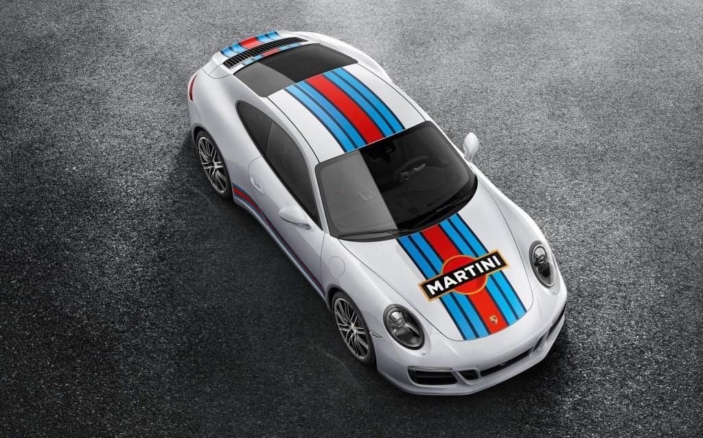 Ya puedes equipar la decoración Martini Racing en el Porsche 911 de manera oficial