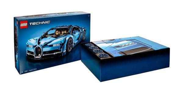 El Bugatti Chiron de LEGO tiene 3.599 piezas y un precio de 419,99 euros: ¿Ya estás listo para comprarlo?