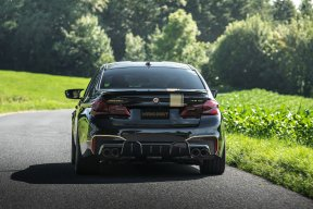 Manhart MH5: Así es un BMW M5 con 723 CV y mucha fibra de carbono