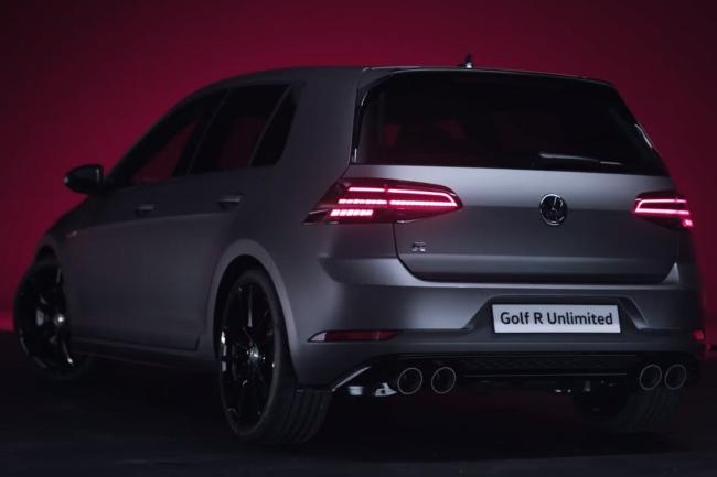 Volkswagen Golf R Unlimited Edition: Sólo 50 unidades... ¡date prisa!